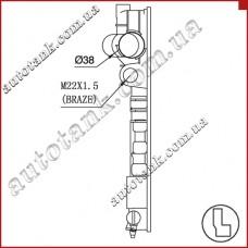 Бачок радиатора охлаждения PEUGEOT 405