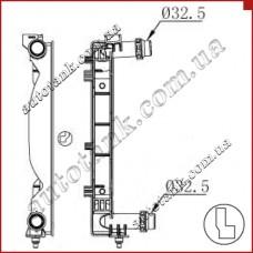 Бачок радіатора AUDI A4/S4