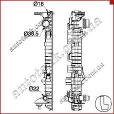 Бачок радіатора AUDI A8 / S8