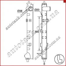 Бачок радіатора Mazda Mpv Ii (Lw) (99-)