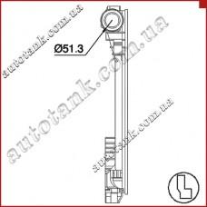 Бачок радіатора MERCEDES E-CLASS W204, W218, W207, W212, GLK X204