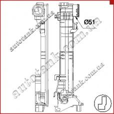 Бачок радіатора MERCEDES С-CLASS W 204, CLS-CLASS W 218, E-CLASS W 207, E-CLASS W 212, GLK X 204