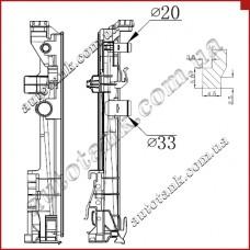 Бачок радіатора MERCEDES W176, W246, C117, X156