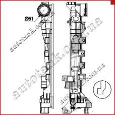 Бачок радіатора MERCEDES CLS-CLASS W218, E-CLASS W212, SL-CLASS W231, SLK-CLASS W172, SLS C 197