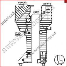Бачок радіатора MERCEDES SPRINTER W909, W901, W902, W903, W904, W905