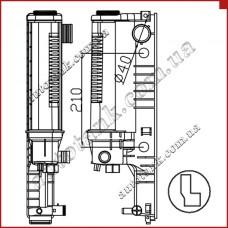 Бачок радіатора Alpina B6 E36