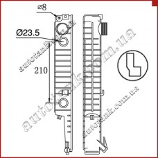 Бачок радіатора Alpina B10, B12, B3, C1, C2