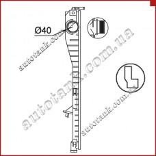 Бачок радіатора Alpina B10, B12