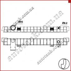 Бачок радіатора IVECO EUROCARGO E13, E15, E17, E18, E21, E22, E24, E25, E28