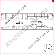 Бачок радиатора Neoplan Bus, Centroliner, Cityliner, Transliner