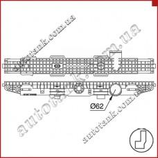 Бачок радиатора DAF 95 XF, F 95, XF 95