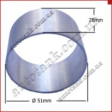 Кольцо для патрубка бачка Ø51mm